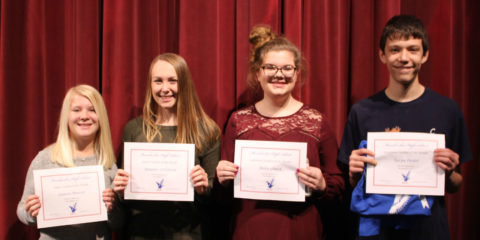 MHS Students of the Month – November 2017
