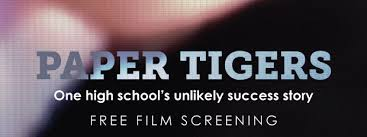 "MHS Offers Free Showing of ""Paper Tigers"""